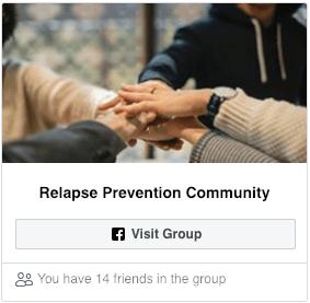 Facebook Group for Rehab in Johannesburg